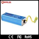 Protector de oleada de Ethernet 100Mbps Poe de los solos canales de la señal RJ45