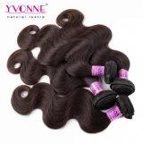 Colorear el pelo peruano de Remy de la extensión del pelo #2