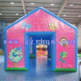 Qualität-riesiges aufblasbares Zelt-kampierendes aufblasbares Zelt verwendet für Arbeitsweg und im Freienzelt