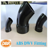 3 pouces Taille ABS Dwv Fitting 1/8 Street Bend