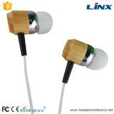Stilvolle hölzerne Kopfhörer mit Form-Entwurf