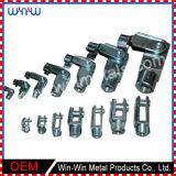 I servizi su ordinazione hanno filettato i pezzi meccanici di CNC delle parti U di precisione Finished delle forcelle