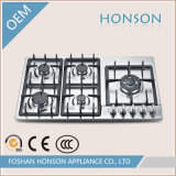 Costruito in Type Gas Hob con Five Burners