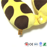Button를 가진 지라프 Rhinoceros Tiger New Baby Neck Support Pillow