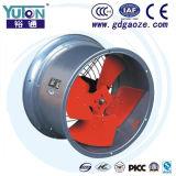 Ventilateur axial à faible bruit de conduit de Yuton
