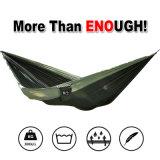 Migliore Hammock di campeggio di nylon portatile. Si raddoppia, Great per l'aria aperta, Backpacking, Hiking, Lounging, Hunting. 100% garanzia di corso della vita garantita soddisfazione