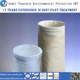 Sachet filtre non-tissé de collecteur de poussière de fibre de verre pour l'usine d'énergie hydroélectrique