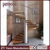 Escadaria espiral de madeira de aço (DMS-1068)