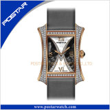 Plus nouveau Diamond Watch avec Romain Numbers Dial Unisex Fancy Watch Water Resistant