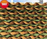 중국 방진 냉각 패드 벽