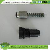 Válvula de escape do aço inoxidável para a máquina da limpeza
