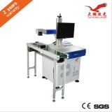 연약한 Drinks Packaging를 위한 CO2 Laser Marking Machine 날고 있는 Marking