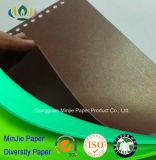 Papier spécial d'or de module de perle d'utilisation de qualité supérieur de couleur