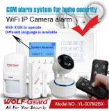 Alarm van de Veiligheid van het Huis van WiFi + GSM het Draadloze
