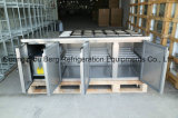 3 Tür-Handelsküche-Edelstahl-Nahrungsmittelkühler