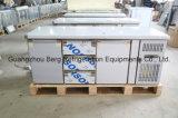 refrigerador do contador do aço inoxidável de 2230mm com porta contínua