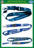 Impression promotionnelle Sublimation Polyester Lanyard