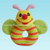견면 벨벳 아기를 위한 다채로운 암소 장난감