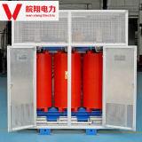 乾式の変圧器か電圧変圧器または変圧器