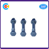 전기 제품을%s 탄소 Steel/4.8/8.8/10.9에 의하여 직류 전기를 통하는 6각형 맨 위 Nuts 나사