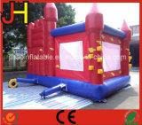 Buntes aufblasbares springendes Prahler-Schloss mit Plättchen für Kinder