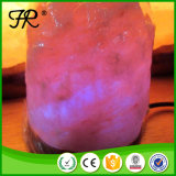 Высеканный рукой естественный розовый Himalayan светильник соли с USB