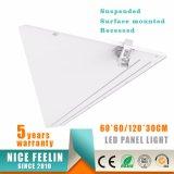 18W el panel ahuecado ultra fino 30*30 de la alta calidad LED
