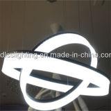 Moderne Acrylhängende Lampe des umlauf-LED