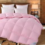 Tecido de algodão Pink Colordown Comforter / Double Face Conforter Cover