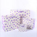 나비 매듭을%s 가진 Cmyk 다채로운 인쇄된 종이 봉지