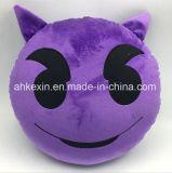 견면 벨벳 장난감 Emoji 다채로운 최고 연약한 베개