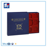 Personalizados de alta calidad caja de papel de regalo con el cajón