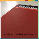 Capa de seda de cuero Glittering roja del polvo de Hsinda