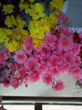 Цветок красотки с Silk искусственним украшением