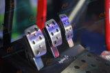 Luxus6 Dof-elektrische Zylinder-Plattform Vr laufendes Auto mit dem 3 Bildschirm-Lieferanten