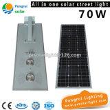 indicatore luminoso di via solare della strada principale di 8m 9m 70W LED