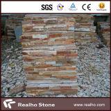 Mattonelle naturali della pietra della coltura per la parete esterna