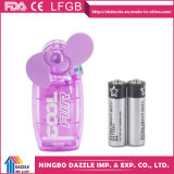 Presente promocional barato Mini ventilador de mão plástico de mão
