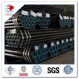 Tube en acier soudé laminé à chaud DIN 2448 St 52 à 6 m de longueur