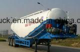 35cbm motor del mezclador de cemento, cemento 50cbm BPW Cisterna, 2/3 Eje semi remolque, remolque a granel Cememnt