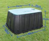 Rettangolo contenitore di plastica di valvola di regolazione di irrigazione di 14 pollici