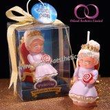 Творческая свечка подарка короля и ферзя для комплекта подарка свечки искусствоа свечки венчания дня рождения родителей