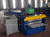 Roulis ondulé formant le panel de toit de machines faisant le matériel