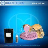 Вылеченная платиной силиконовая резина для зубоврачебного с просвечивающим цветом