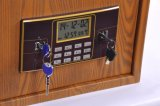 La cassaforte elettronica di Digitahi del grano di legno