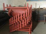 Pálete de borne de aço revestida Stackable resistente do PVC