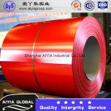 Pre Coated гальванизированная сталь свертывается спиралью (PPGI)