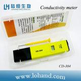 Mètre de conductivité électrique de prix bas d'équipement d'essai de l'eau (CD-304)
