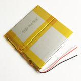 패드 GPS PSP DVD 힘 은행 정제 PC Nootbook 휴대용 퍼스널 컴퓨터 38110114를 위한 3.7 6000mAh 리튬 중합체 Li Po 재충전 전지