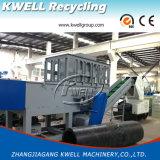 Tubulação plástica, Shredder da tubulação do PVC do HDPE PPR/máquina Shredding único eixo